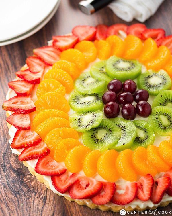 fruit pizza recipe healthy giant fruit bat