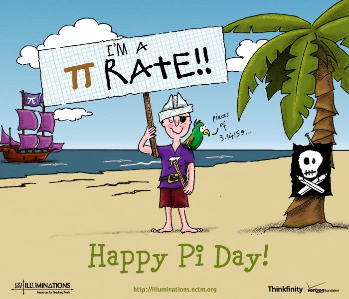 Happy Pi Day! Find more cards at Illuminations!