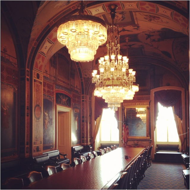 The senate appropriations committee room the capitol for U s senate dining room
