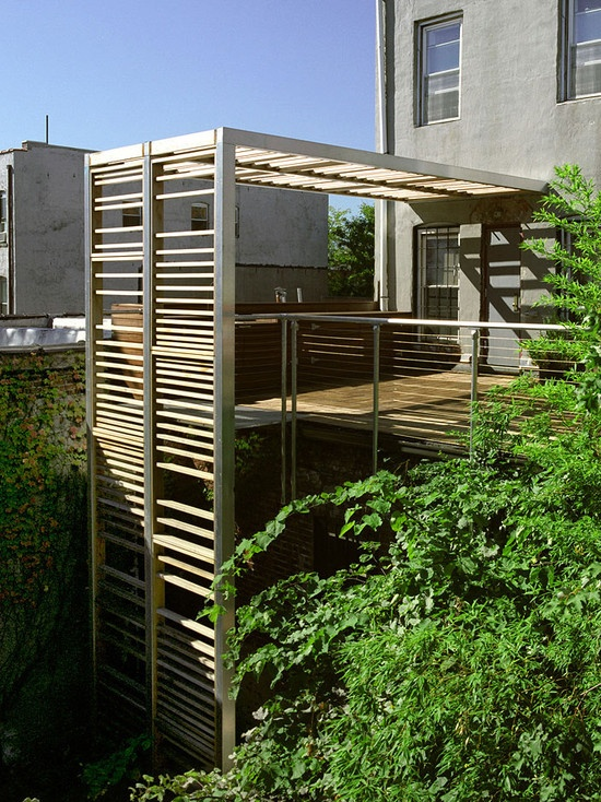 Modern Trellis and roof deck westwing Pinterest