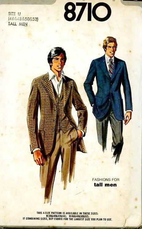 men's jacket pattern