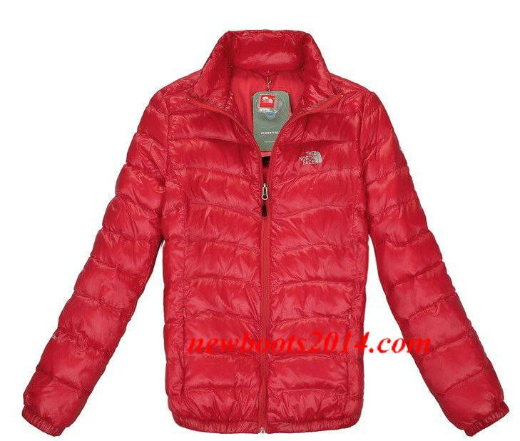 The North Face Womens Down Jacket University Red