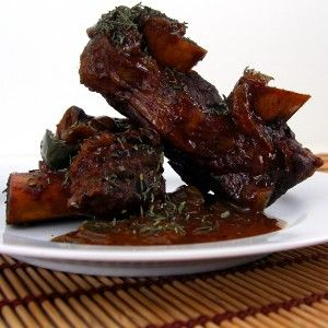 chocolate and coffee braised short ribs | Food to Savor | Pinterest