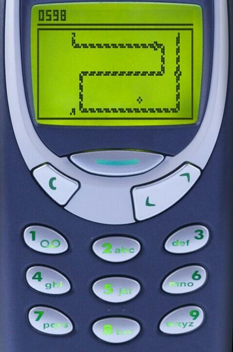 Old nokia snake game   Tech - Gadget - Geek - Future   Pinterest
