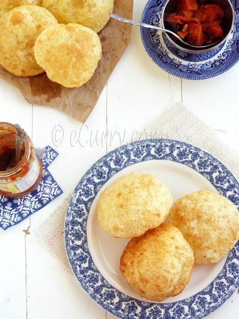 Poori - Deep Fried Puffed Bread | Gastronomically speaking~ | Pintere ...