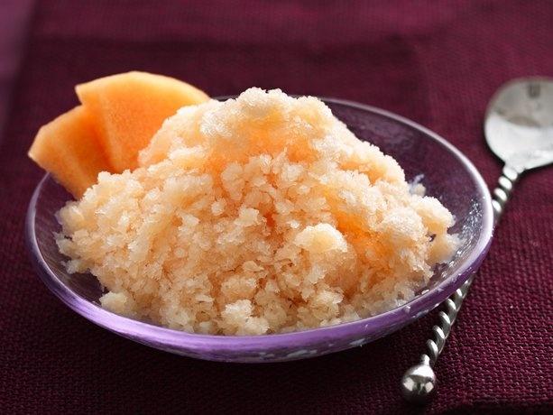 Cantaloupe Granita   Recipe