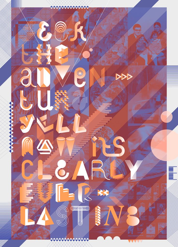 staynice typographic poster