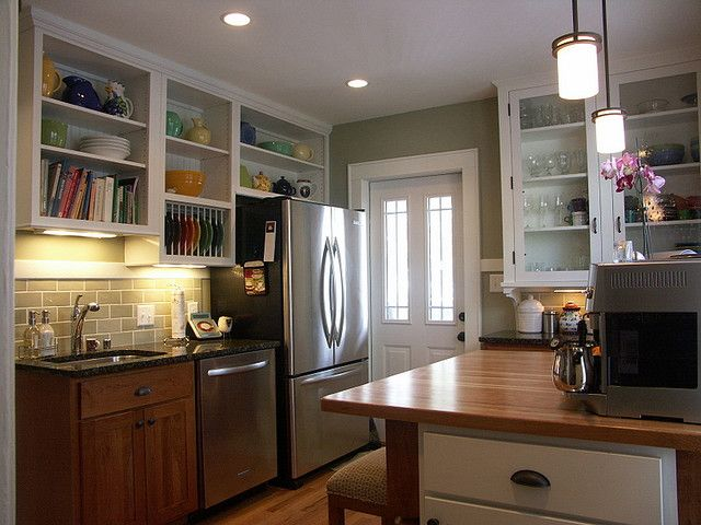 Bungalow Kitchen Craftsman Kitchens Pinterest