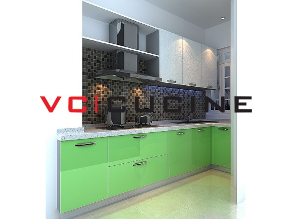 High gloss uv painting kitchen cupboard uv kitchen cabinets pinte