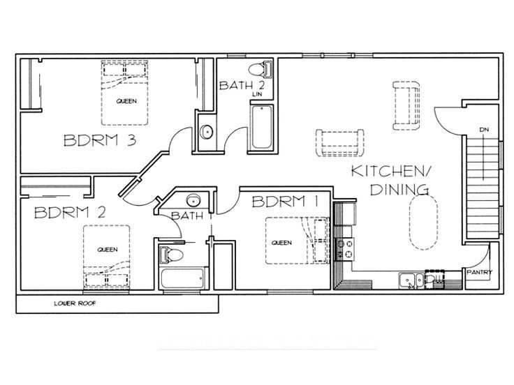 2nd floor plan garage apartment dream home pinterest for Garage apartment plans canada
