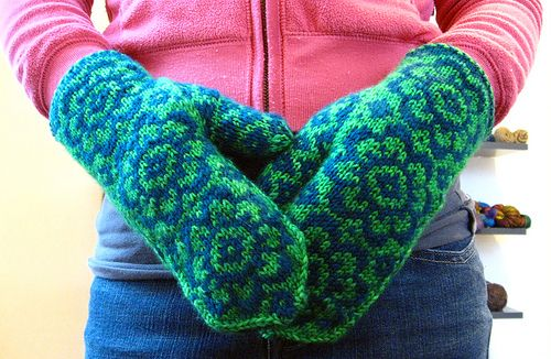 End of May Mittens by knottygnome, via Flickr