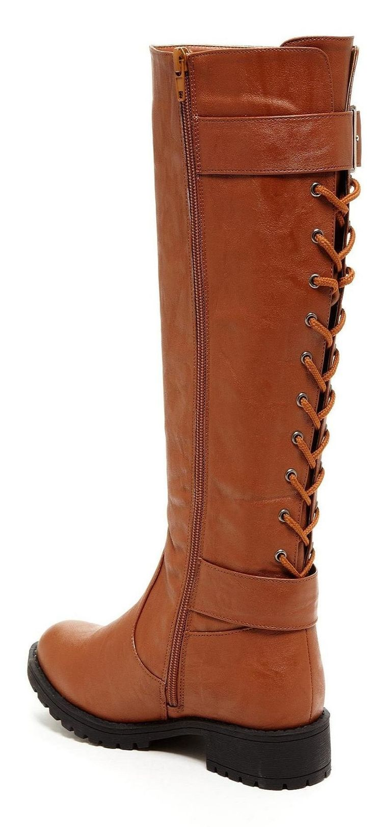 Bucco lace up back riding boot accessories shoe fetish boots