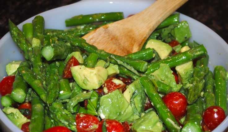 Asparagus And Avocado Salad Recipes — Dishmaps