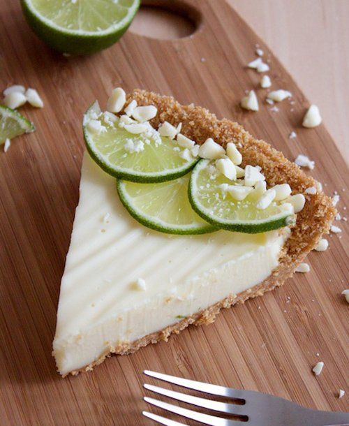 White Chocolate Key Lime Pie | Yummmm | Pinterest