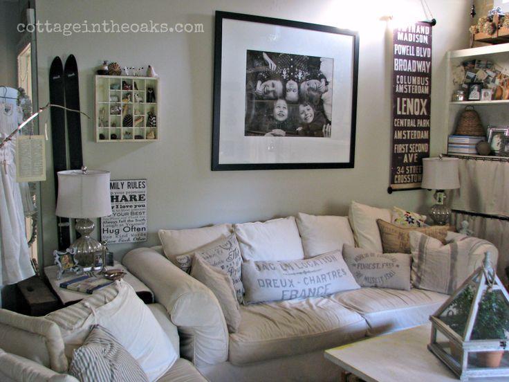 Our Cottage Cottage Living Room