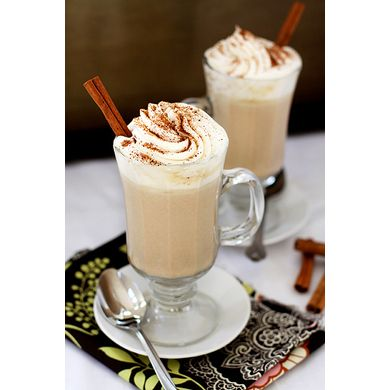 Pumpkin Spice White Hot Chocolate via goodlifeeats #Pumpkin #Recipes