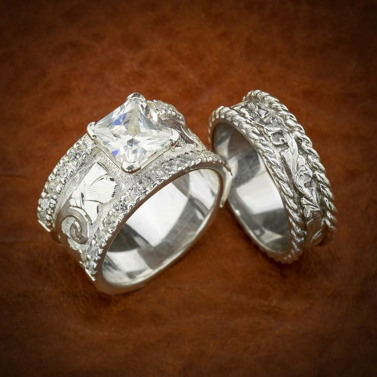 SOOO PRETTYY Engagement And Wedding Rings Pinterest