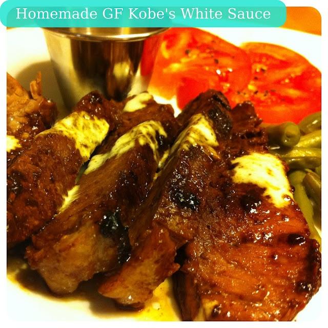 Gluten Free Kobe White Sauce | Gluten Free Foodies | Pinterest