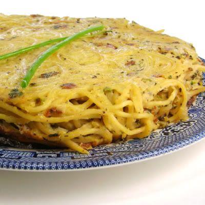 Spaghetti Frittata | Frittata | Pinterest