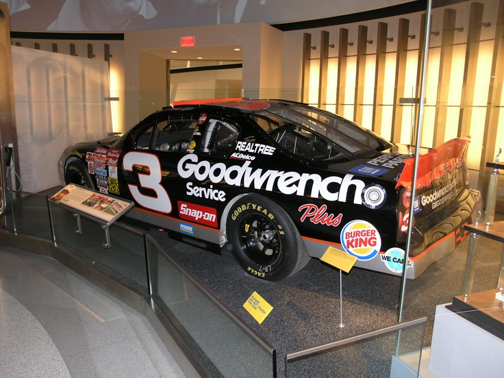 nascar hall of fame exhibits