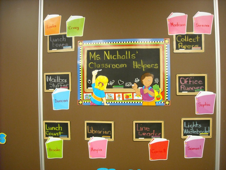 Classroom Job Ideas 3rd Grade : Classroom jobs rd grade bulletin boards and decorated