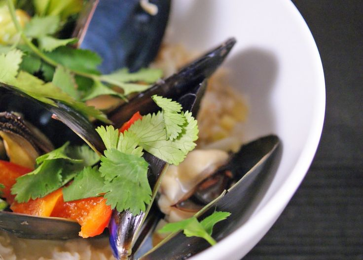Thai-Style Mussels Lemongrass, Chilies, Ginger, Coconut Milk ...