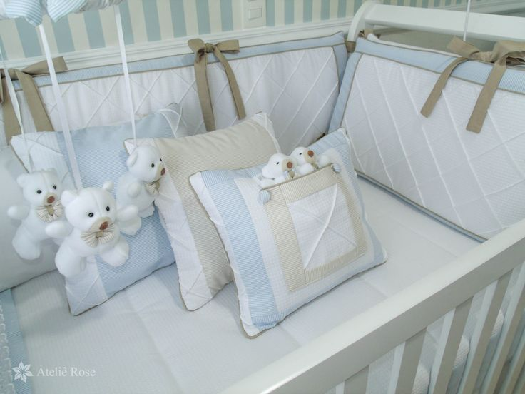 Kit Berço para decorar quarto de bebê24