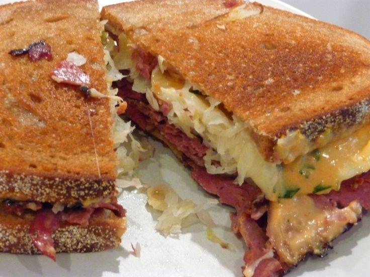 reuben sandwich | Cuisine | Pinterest