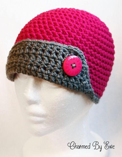 Cosmic Flapper Hat pattern by Janaya Chouinard