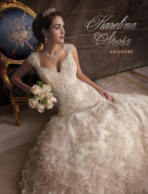 Princess wedding dress model gelinlik model fluffy princess
