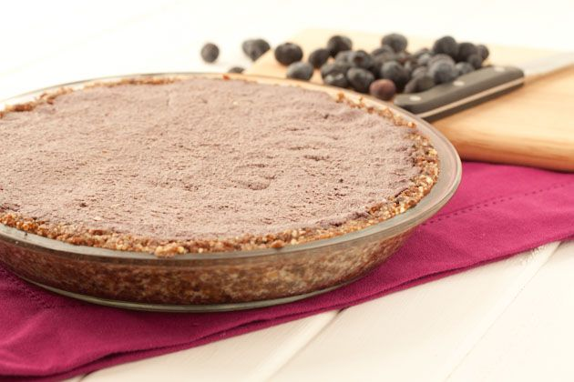 No bake Blueberry Cream Pie | pastries and puddings | Pinterest