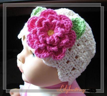 Crochet Hat Pattern - Chunky Flapper Hat Beanie Crochet
