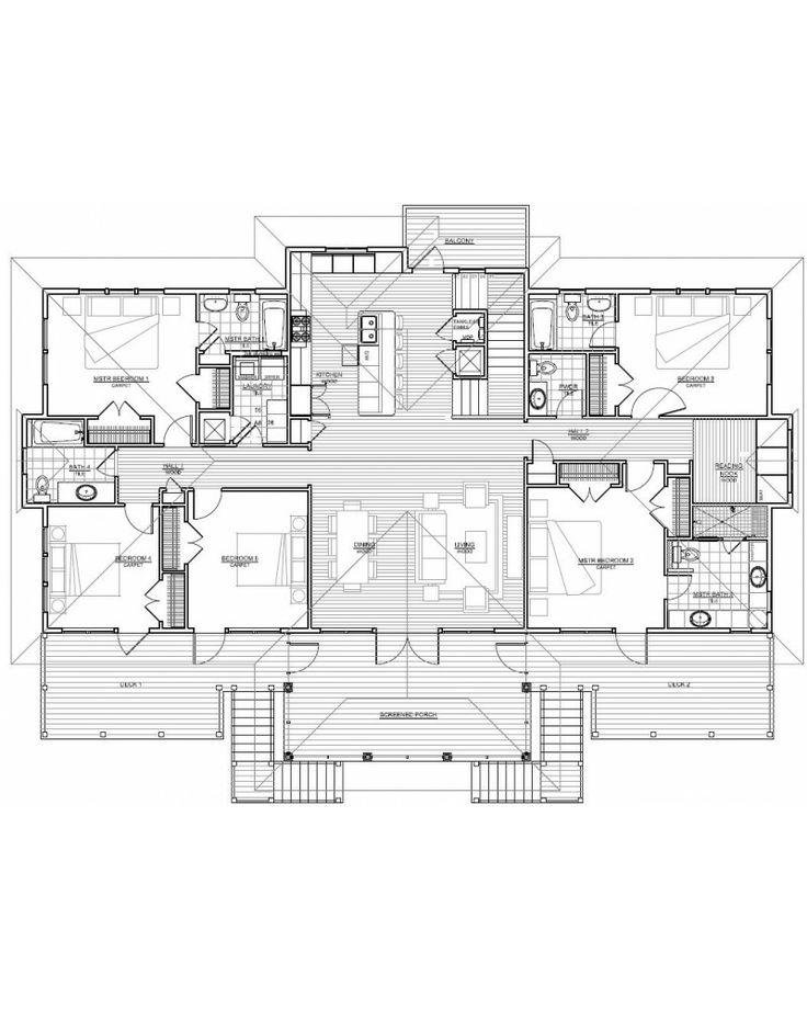 Coastal house plans on pilings for the home pinterest for Coastal house plans on pilings