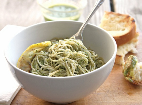 Parsley -Walnut Pesto. | I Could Just Eat You Right Up | Pinterest