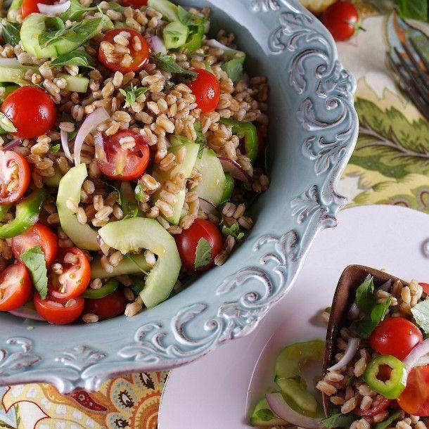 Summer Farmer's Market Farro Salad / Patty's Food