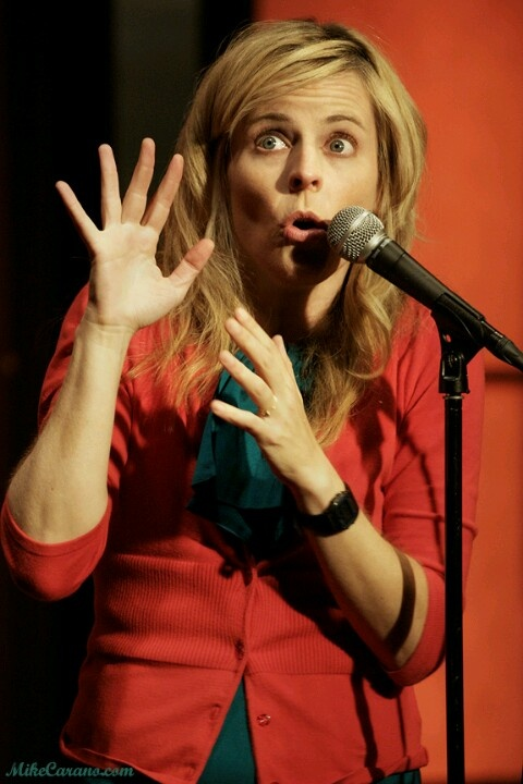 Maria Bamford frequently performs at Hollywood Hotel's comedy nights!
