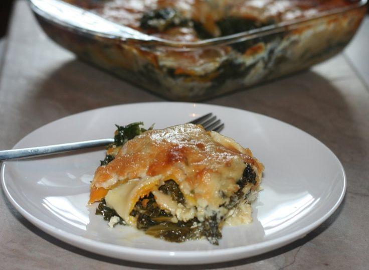 Butternut Squash & Kale Lasagna | Yummy! | Pinterest