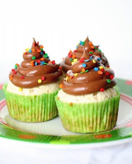 Vanilla Bean Pound Cake Cupcakes1 | sweetcupcakes | Pinterest