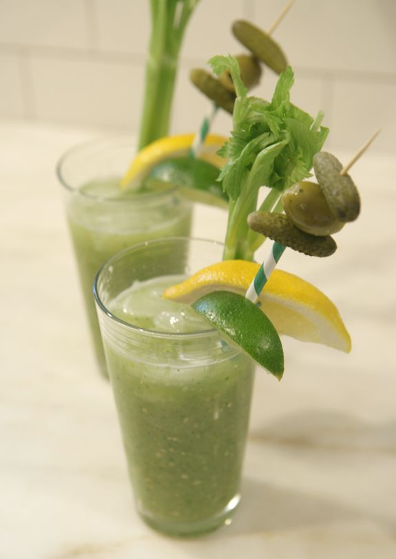 Cocktail Recipe: Verde Maria (Green Bloody Mary)