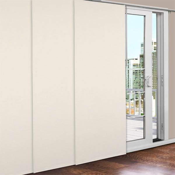 Natural Prelude Insulated Sliding Door Panel Set