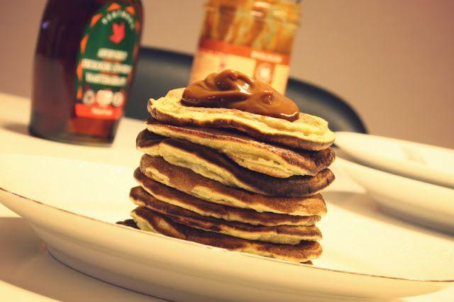 Banana buttermilk pancakes | midtimellem | Low protein diet inspirati ...