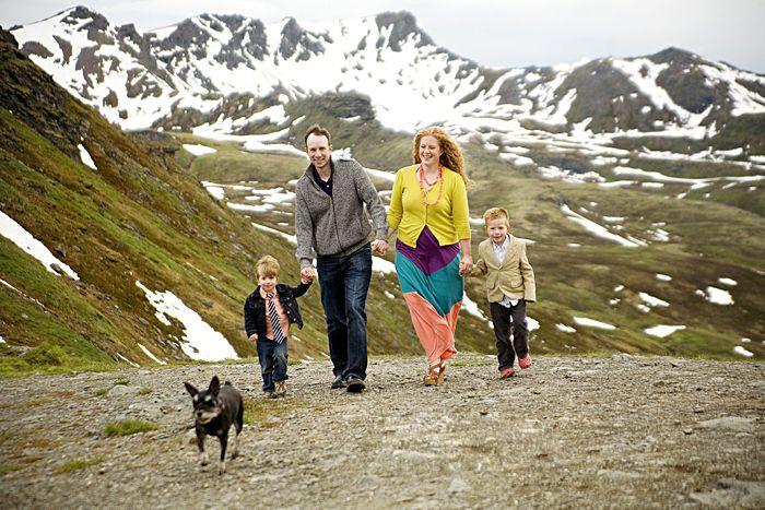 Fun family photo ideas