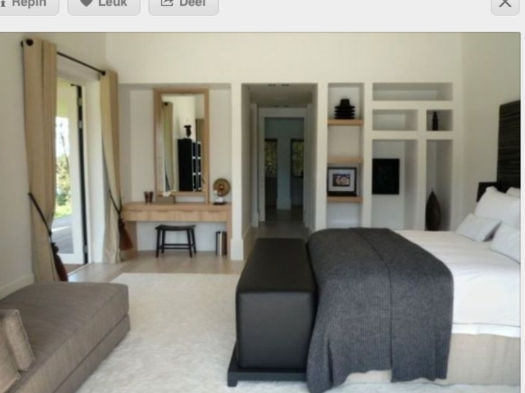 Slaapkamer Piet Boon  Slaapkamers, badkamers, keukens  Pinterest