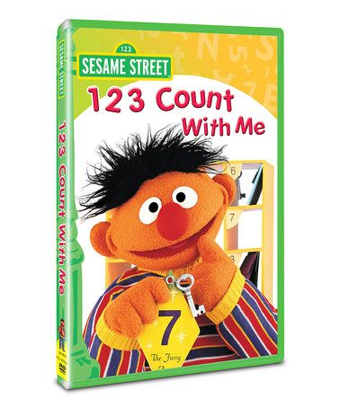 sesame street 123 count with me vhs  ... Sesame Street 123