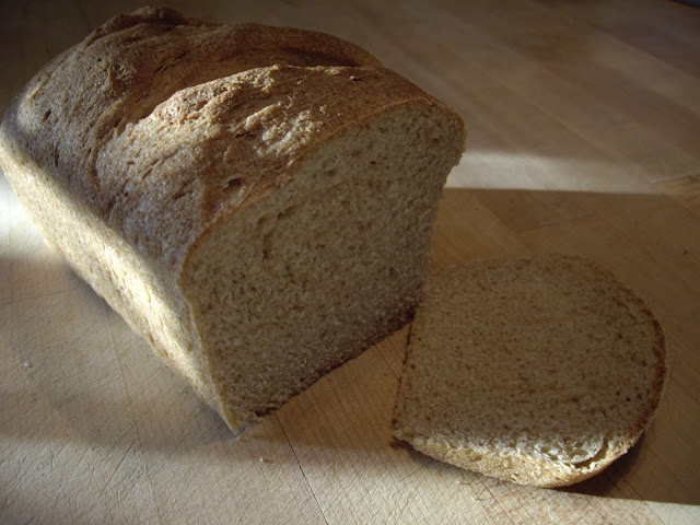 Basic Whole Wheat Bread | Bread, Crackers & Whole Wheat Recipes | Pin ...