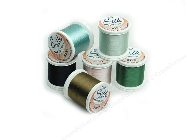 YLI Silk Thread for hand applique