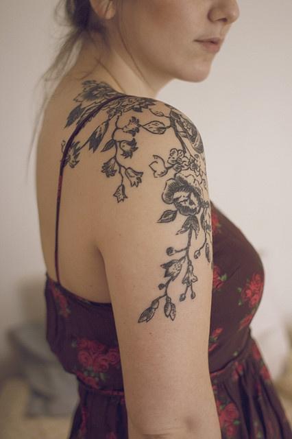 very classy, tattoo.