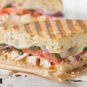 Panini - Panera Bread Smoked & pulled white meat chicken, mozzarella ...