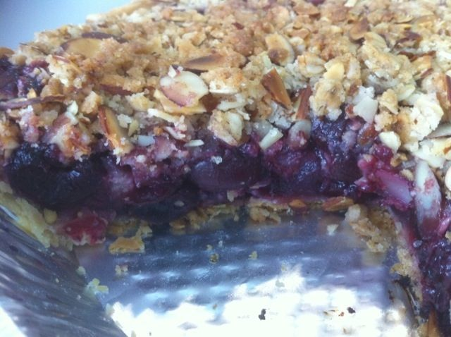 Cherry Pie with Almond Crumb Topping | Tasty Kitchen: A Happy Recipe ...