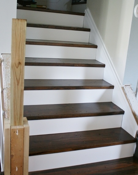 Diy Staircase Remodel Show Contractor Pinterest